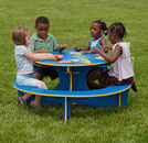 playground tables and site amenities