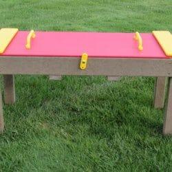 Sand Table, Lockable Lid, Maintenance-Free Plastic