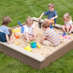 Sandbox, 6′ x 6′