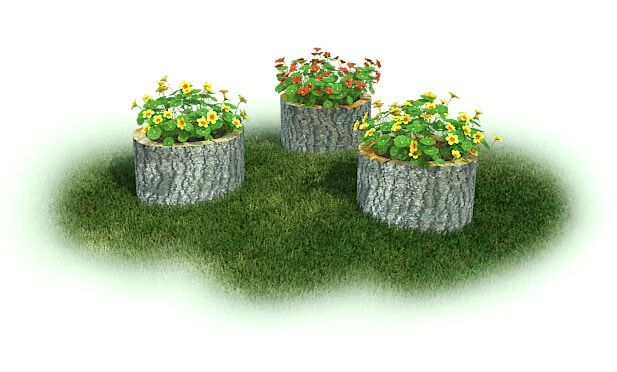 Stump Garden, Set of 3