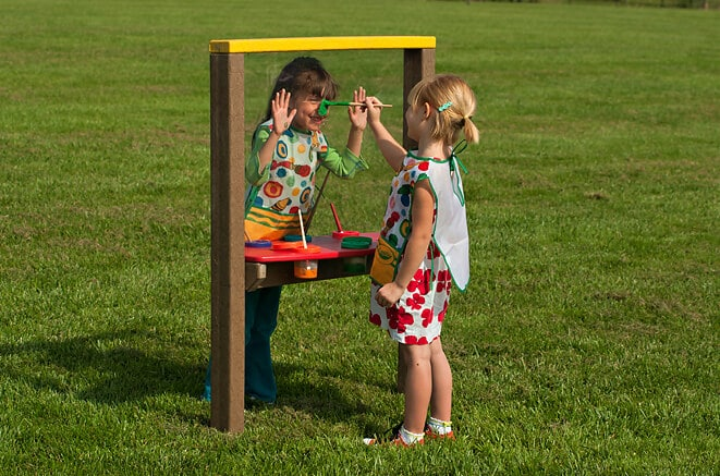 Single Small Art Easel - Plastic