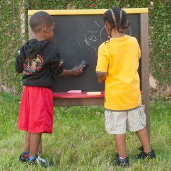 Chalk Board, Maintenance-Free Plastic