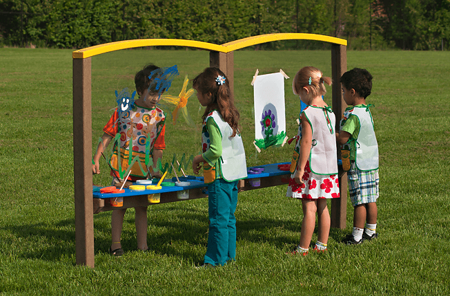 Art Easel Large Double The Adventurous Child